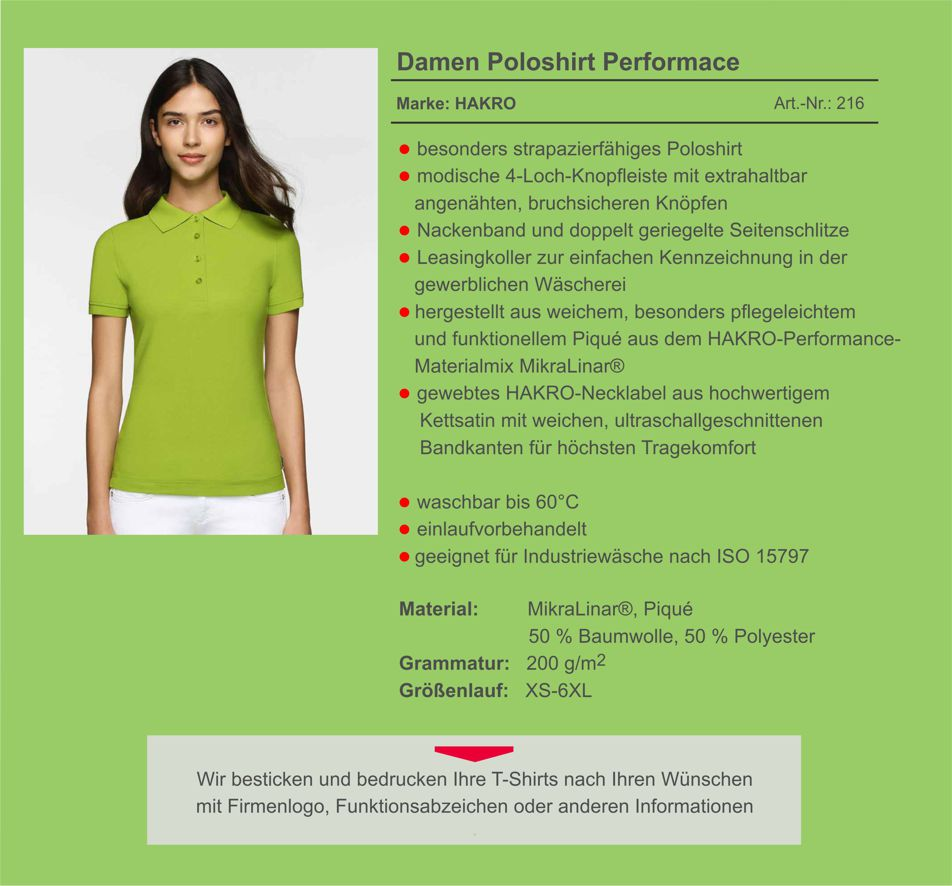 Hakro Poloshirt 216