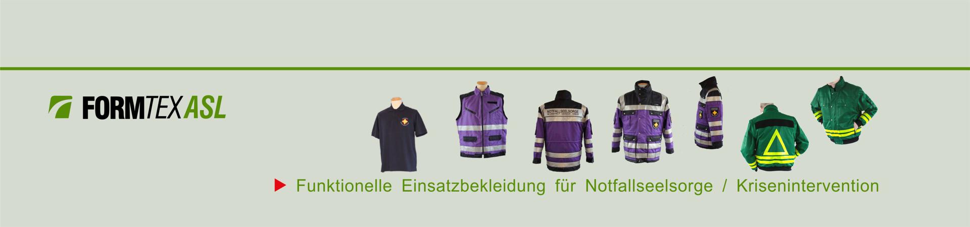 Bekleidung für Rettungs- u. Pflegedienst, Notfallseelsorge