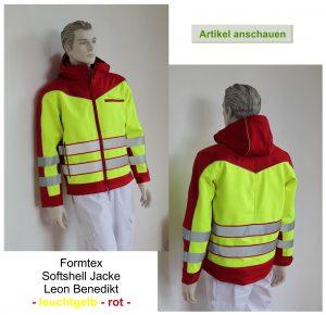 Softshell Jacke für Beruf und Freizeit